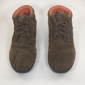Toms Brown Sneakers Size 7